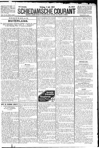 Schiedamsche Courant 1927-07-01