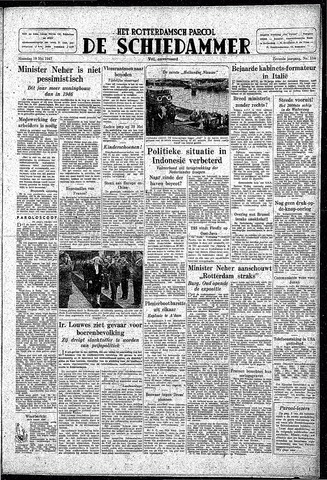 Rotterdamsch Parool / De Schiedammer 1947-05-19