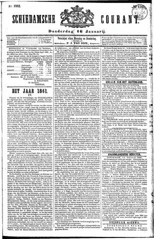 Schiedamsche Courant 1862-01-16