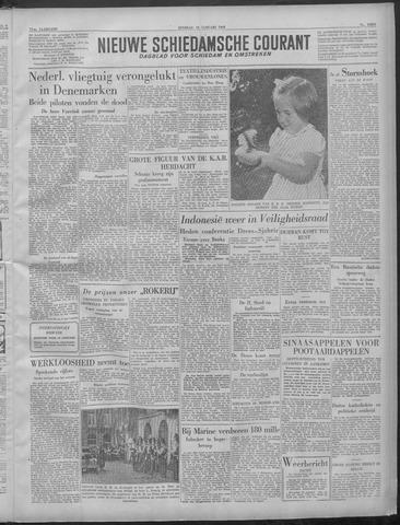 Nieuwe Schiedamsche Courant 1949-01-18