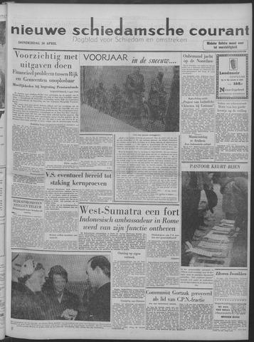 Nieuwe Schiedamsche Courant 1958-04-10