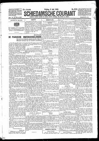 Schiedamsche Courant 1931-07-03
