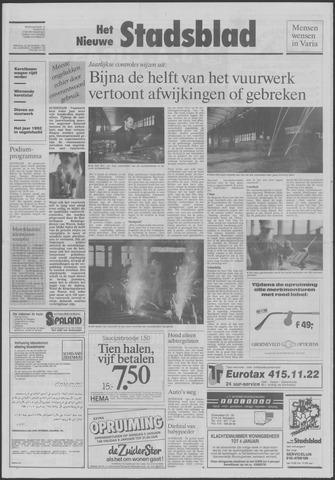 Het Nieuwe Stadsblad 1992-12-29