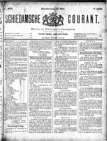 Schiedamsche Courant 1883-05-10