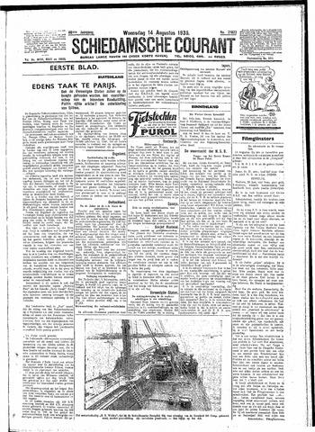 Schiedamsche Courant 1935-08-14
