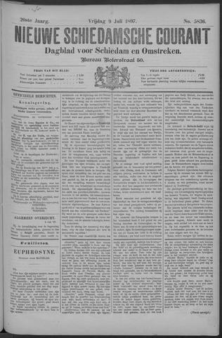 Nieuwe Schiedamsche Courant 1897-07-09