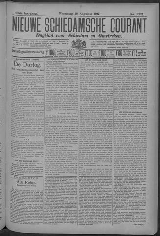Nieuwe Schiedamsche Courant 1917-08-29