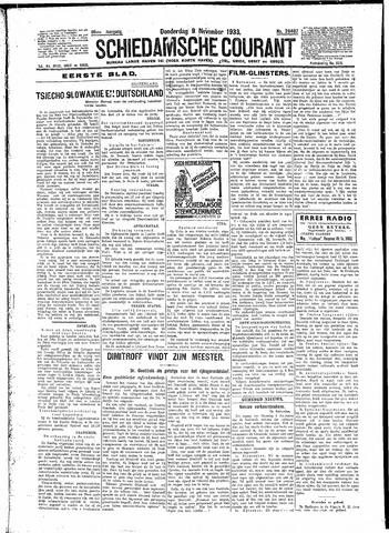 Schiedamsche Courant 1933-11-09