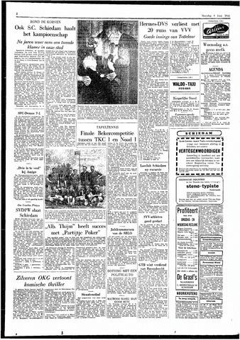 Rotterdamsch Parool / De Schiedammer 1955-06-06