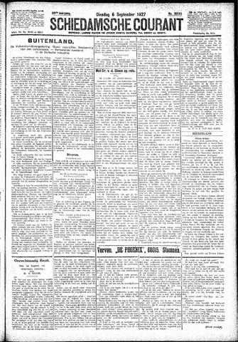 Schiedamsche Courant 1927-09-06