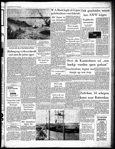 Rotterdamsch Parool / De Schiedammer 1962-07-19