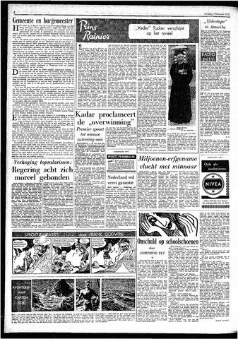 Rotterdamsch Parool / De Schiedammer 1957-02-01