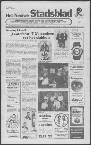 Het Nieuwe Stadsblad 1972-04-07