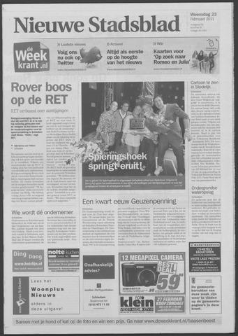 Het Nieuwe Stadsblad 2011-02-23