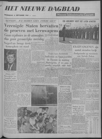 Nieuwe Schiedamsche Courant 1961-09-06