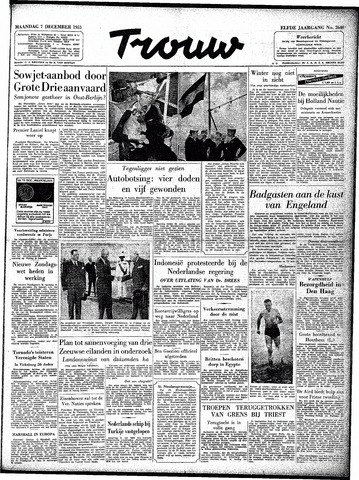 Trouw / De Rotterdammer 1953-12-07