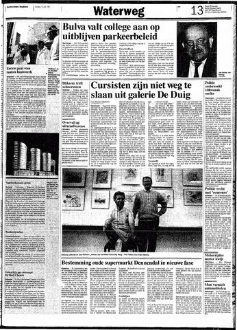 Rotterdamsch Nieuwsblad / Schiedamsche Courant / Rotterdams Dagblad / Waterweg / Algemeen Dagblad 1991-07-12