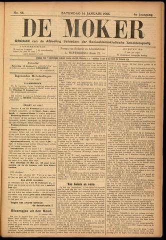 De Moker 1905-01-14