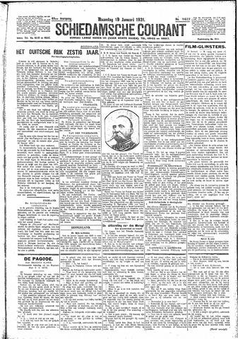 Schiedamsche Courant 1931-01-19