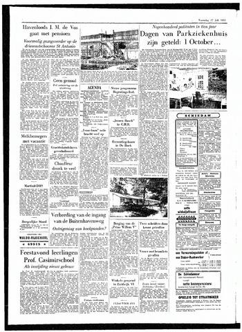 Rotterdamsch Parool / De Schiedammer 1955-07-27