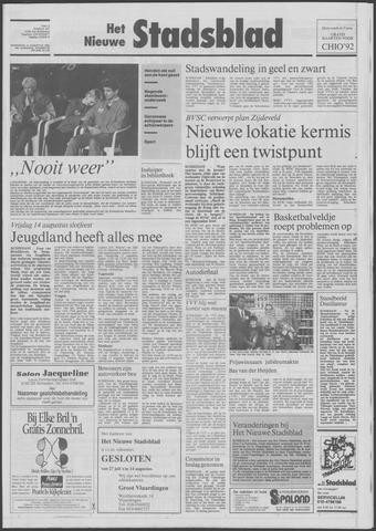 Het Nieuwe Stadsblad 1992-08-12