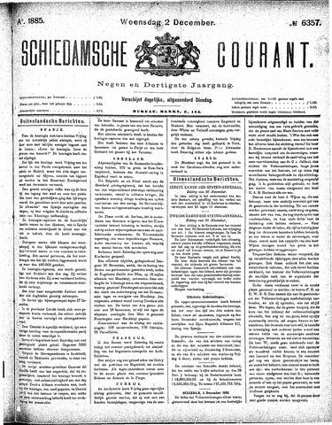 Schiedamsche Courant 1885-12-02