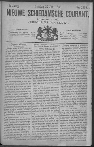 Nieuwe Schiedamsche Courant 1886-06-22