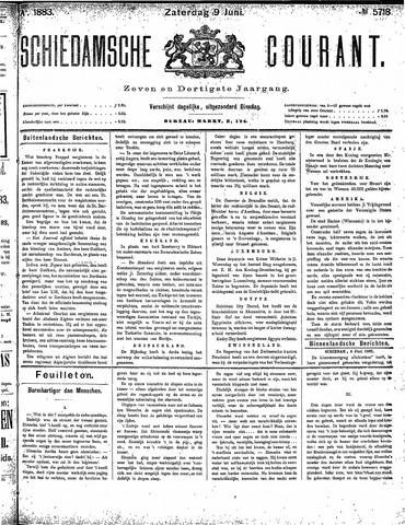 Schiedamsche Courant 1883-06-09