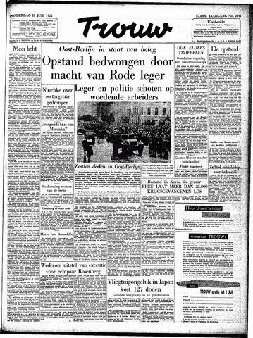 Trouw / De Rotterdammer 1953-06-18