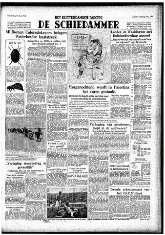 Rotterdamsch Parool / De Schiedammer 1948-06-10