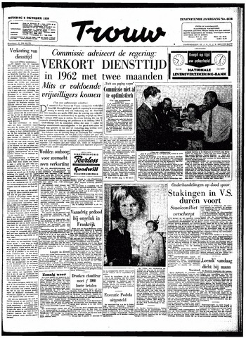 Trouw / De Rotterdammer 1959-10-06