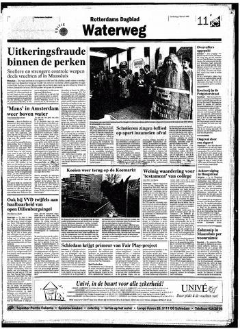 Rotterdamsch Nieuwsblad / Schiedamsche Courant / Rotterdams Dagblad / Waterweg / Algemeen Dagblad 1998-02-05