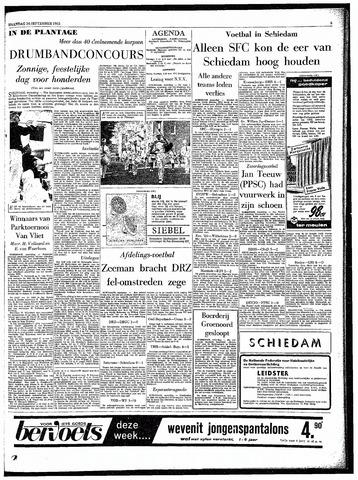 Rotterdamsch Parool / De Schiedammer 1963-09-16