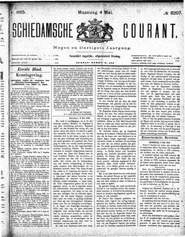 Schiedamsche Courant 1885-05-04