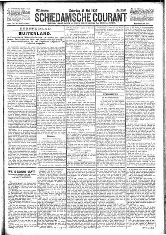 Schiedamsche Courant 1927-05-21