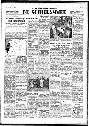 Rotterdamsch Parool / De Schiedammer 1948-04-28