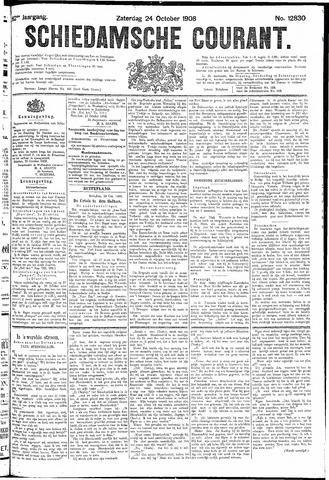 Schiedamsche Courant 1908-10-24