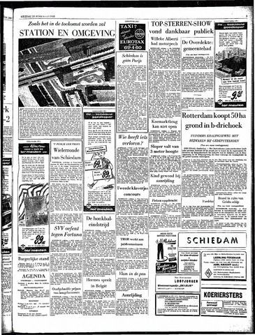 Rotterdamsch Parool / De Schiedammer 1963-08-16