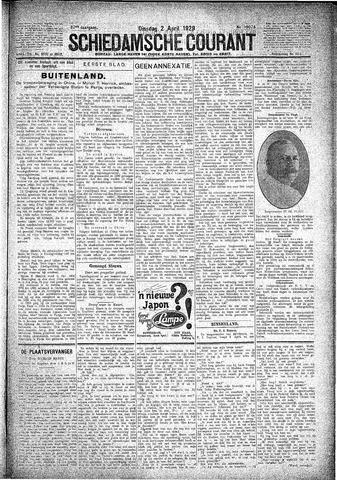 Schiedamsche Courant 1929-04-02