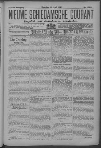 Nieuwe Schiedamsche Courant 1918-04-15