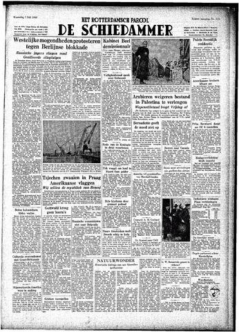 Rotterdamsch Parool / De Schiedammer 1948-07-07