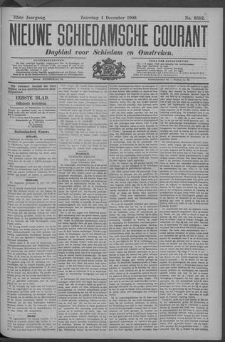 Nieuwe Schiedamsche Courant 1909-12-04