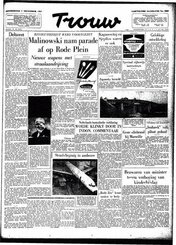 Trouw / De Rotterdammer 1957-11-07