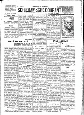 Schiedamsche Courant 1935-04-25