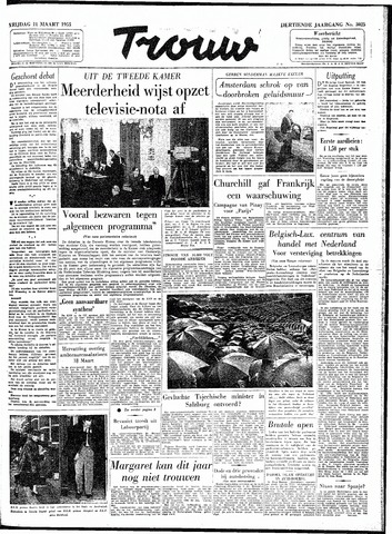 Trouw / De Rotterdammer 1955-03-11