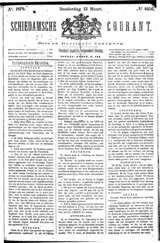 Schiedamsche Courant 1879-03-13