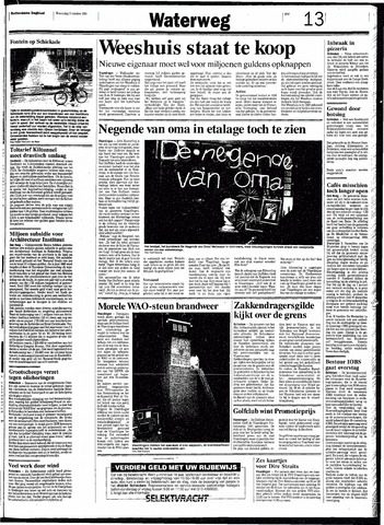 Rotterdamsch Nieuwsblad / Schiedamsche Courant / Rotterdams Dagblad / Waterweg / Algemeen Dagblad 1991-10-02