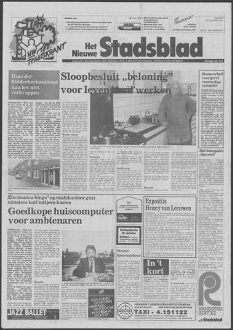 Het Nieuwe Stadsblad 1987-10-30