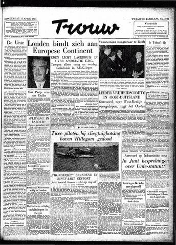 Trouw / De Rotterdammer 1954-04-15