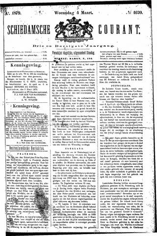Schiedamsche Courant 1879-03-05